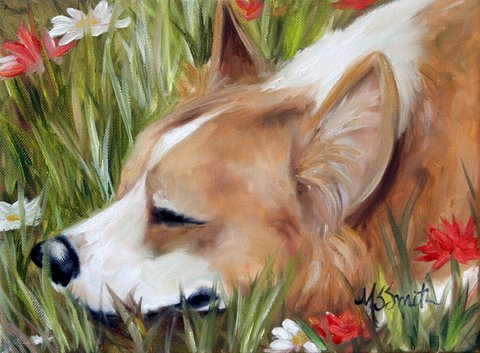 Welsh corgi pembroke Mary Smith